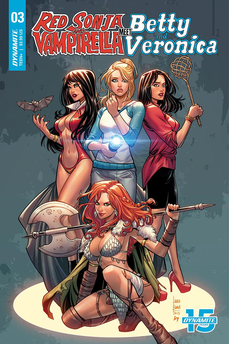 Red Sonja And Vampirella Meet Betty And Veronica #3 Cover C Variant Laura Braga Cover