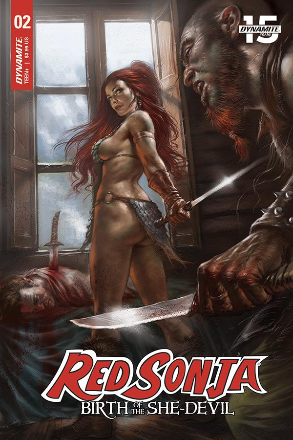 Red Sonja Birth Of The She-Devil #2 Cover A Regular Lucio Parrillo Cover