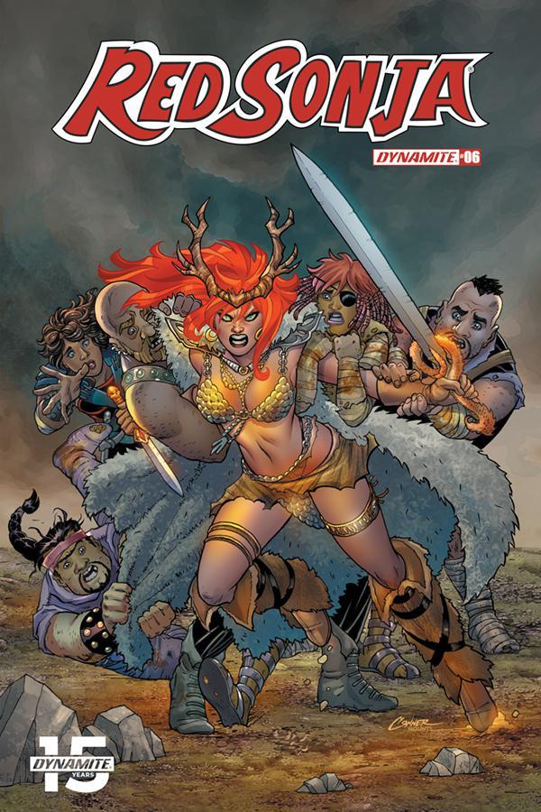 Red Sonja Vol 8 #6 Cover A Regular Amanda Conner Cover