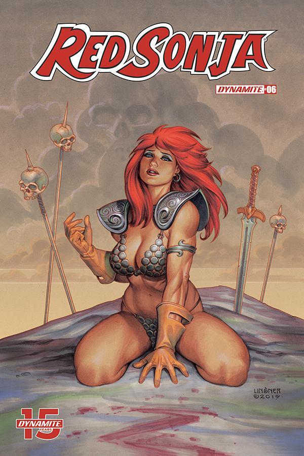 Red Sonja Vol 8 #6 Cover B Variant Joseph Michael Linsner Cover