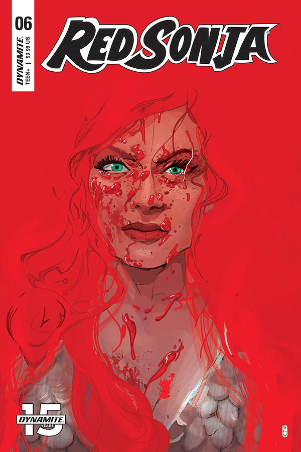Red Sonja Vol 8 #6 Cover C Variant Christian Ward Cover
