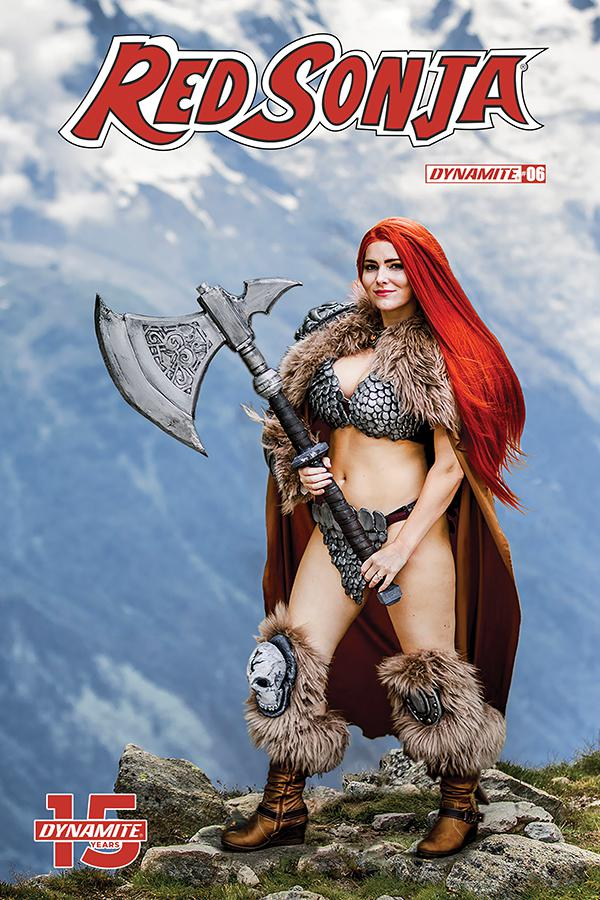 Red Sonja Vol 8 #6 Cover E Variant Cosplay Photo Cover