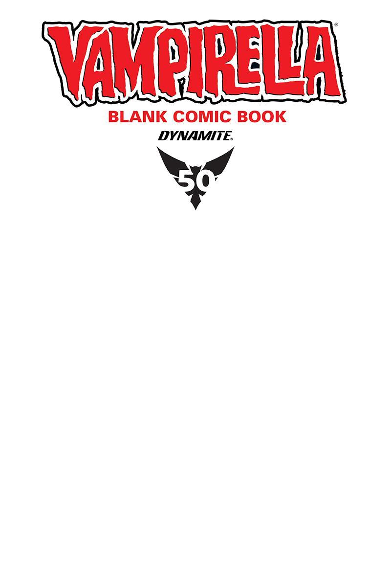 Vampirella Blank Comic #1