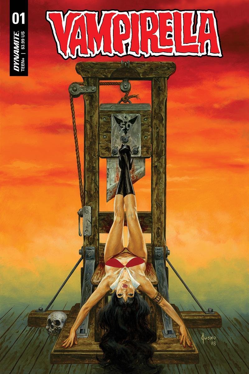 Vampirella Vol 8 #1 Cover C Variant Joe Jusko Cover