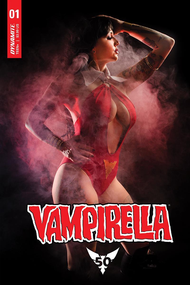 Vampirella Vol 8 #1 Cover E Variant Cosplay Photo Cover