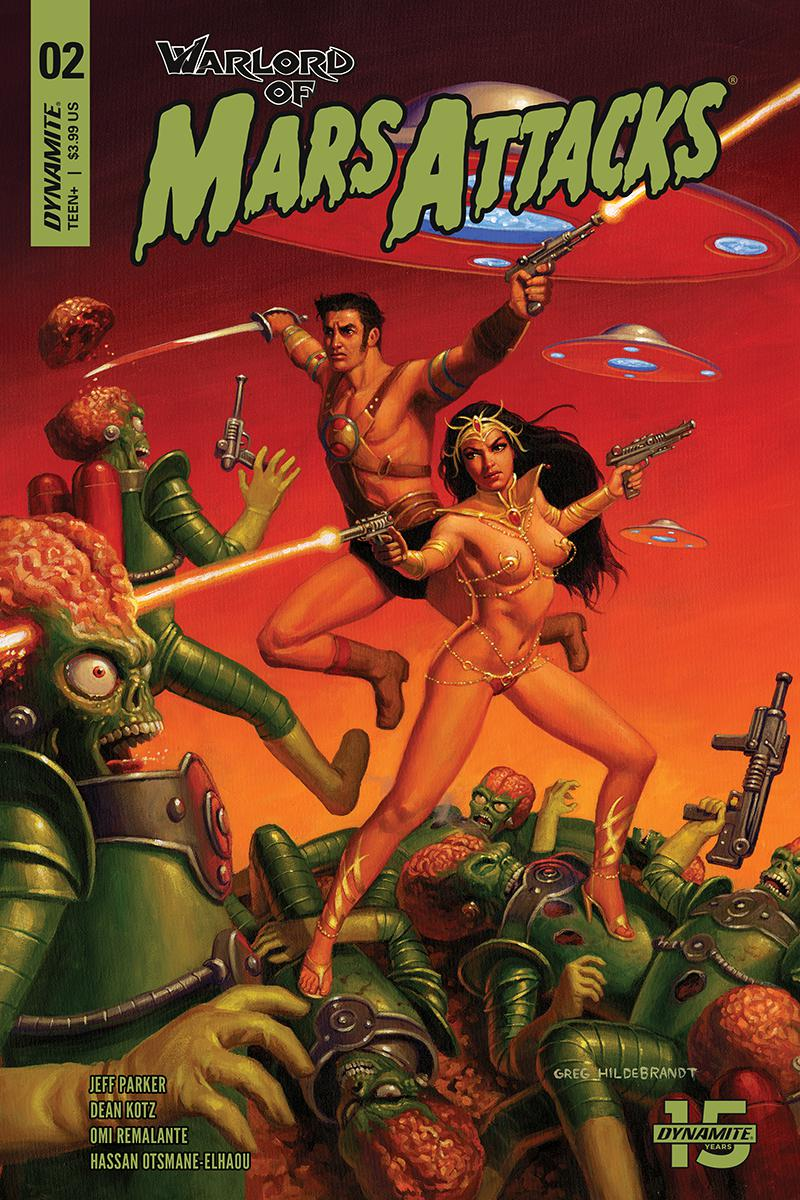 Warlord Of Mars Attacks #2 Cover A Regular Greg Hildebrandt Cover