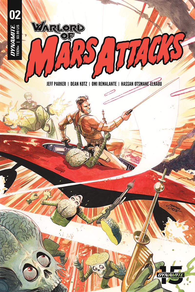 Warlord Of Mars Attacks #2 Cover B Variant Jonathan Case Cover