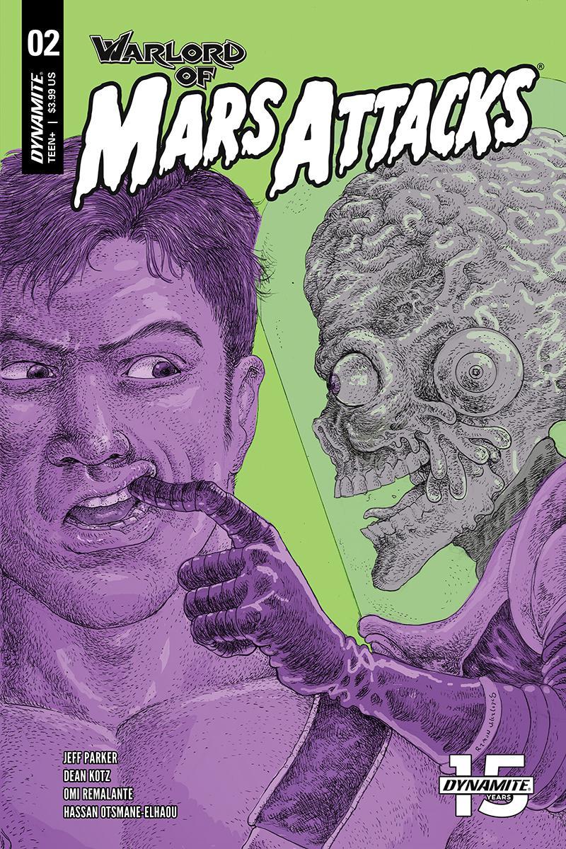 Warlord Of Mars Attacks #2 Cover C Variant Ramon Villalobos Cover