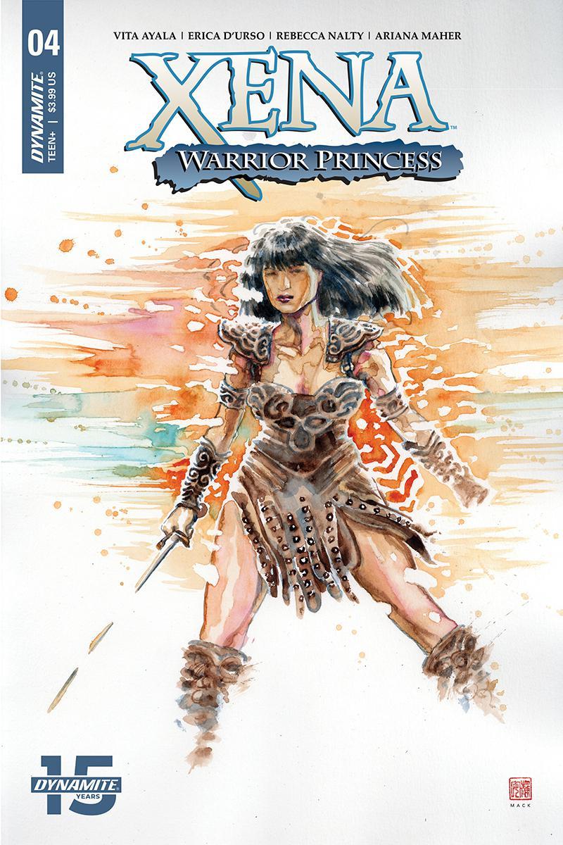 Xena Warrior Princess Vol 4 #4 Cover A Regular David Mack Cover