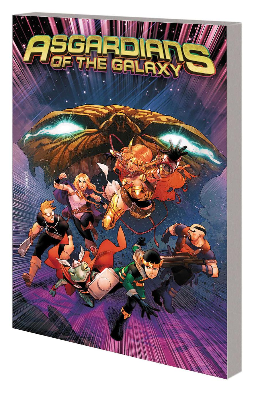 Asgardians Of The Galaxy Vol 2 War Of The Realms TP