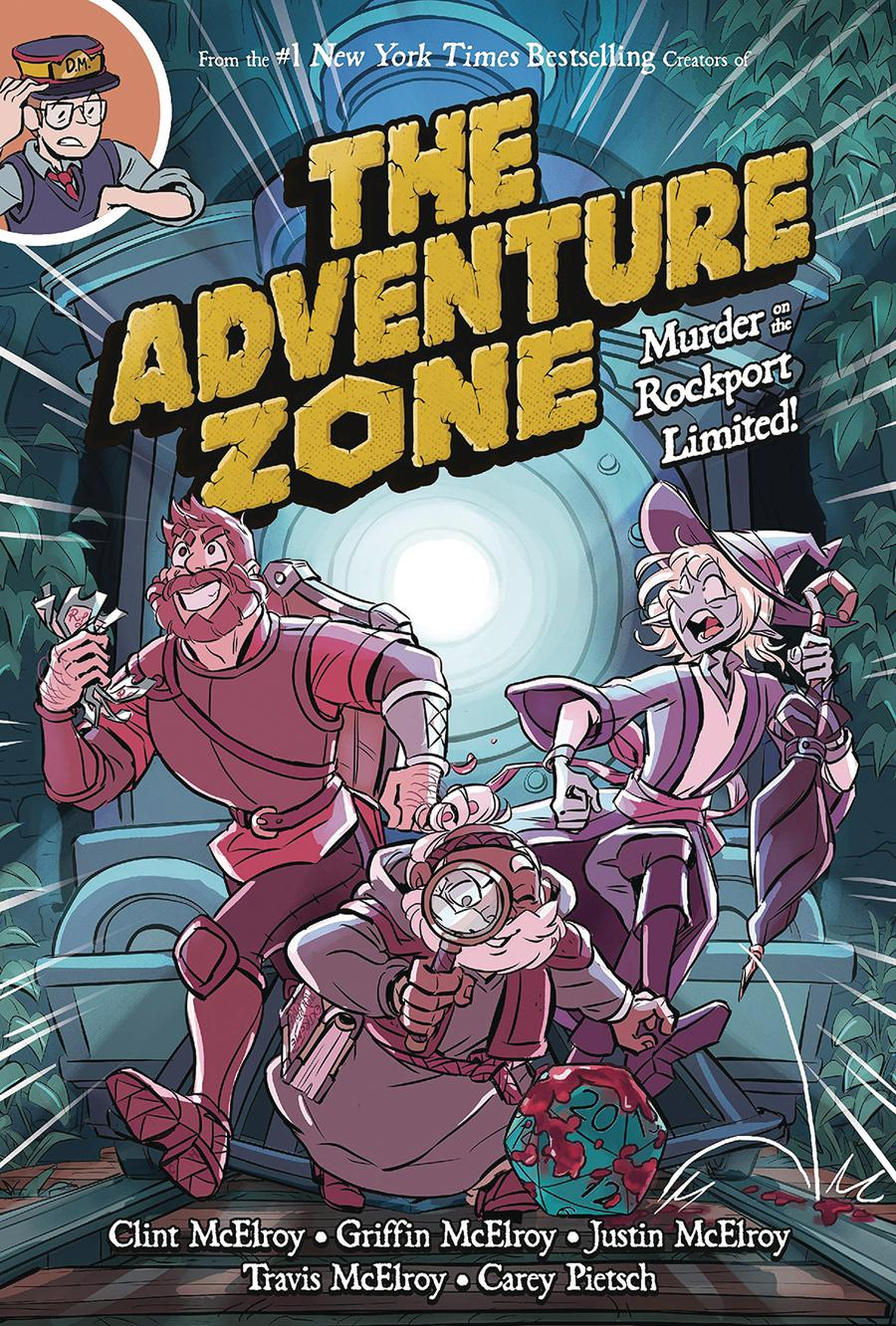 Adventure Zone Vol 2 Murder On The Rockport Limited HC
