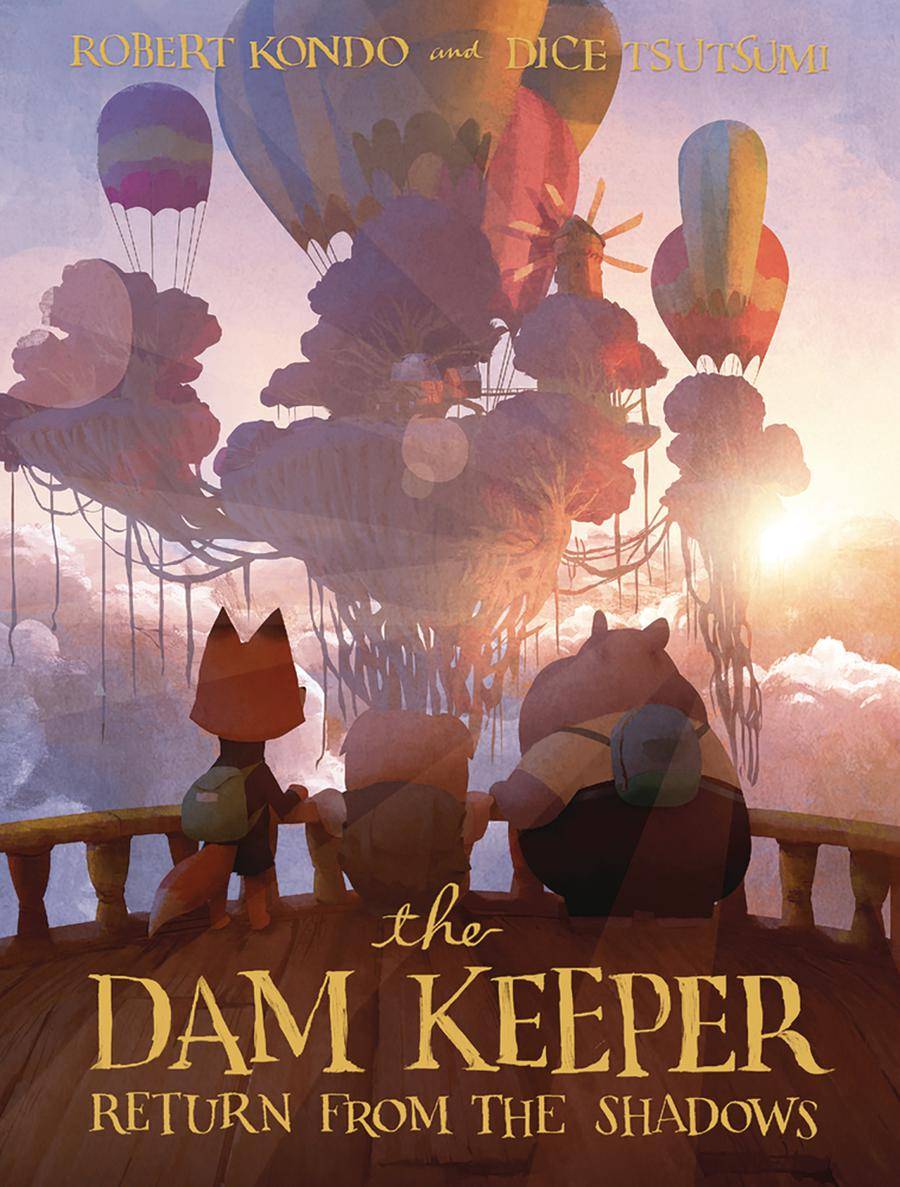 Dam Keeper Vol 3 Return From The Shadows HC
