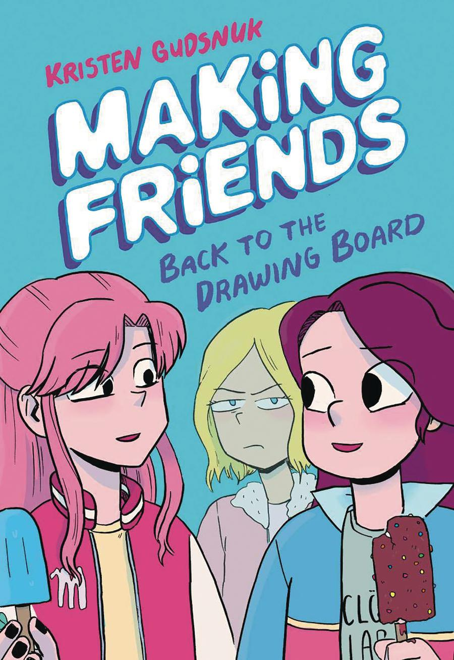Making Friends Vol 2 Back To The Drawing Board HC