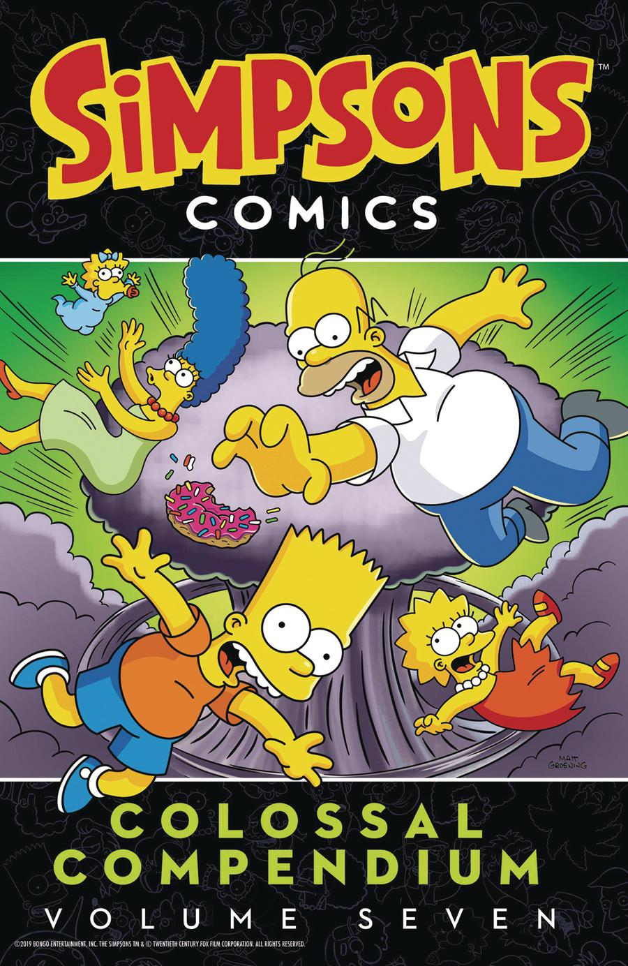 Simpsons Comics Colossal Compendium Vol 7 TP