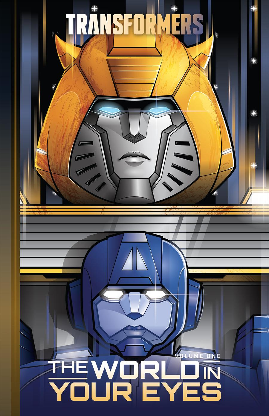 Transformers (2019) Vol 1 World In Your Eyes HC