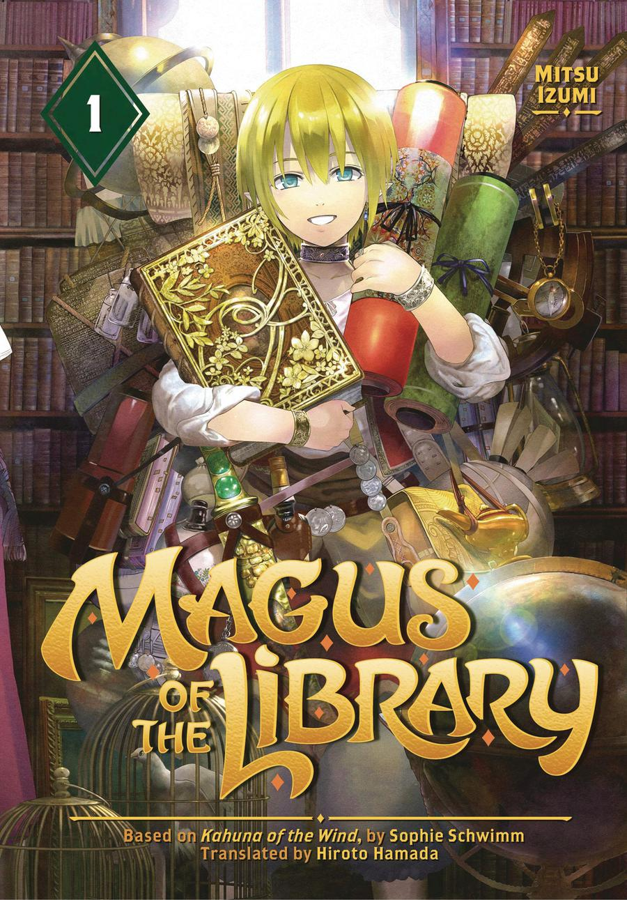 Magus Of The Library Vol 1 GN