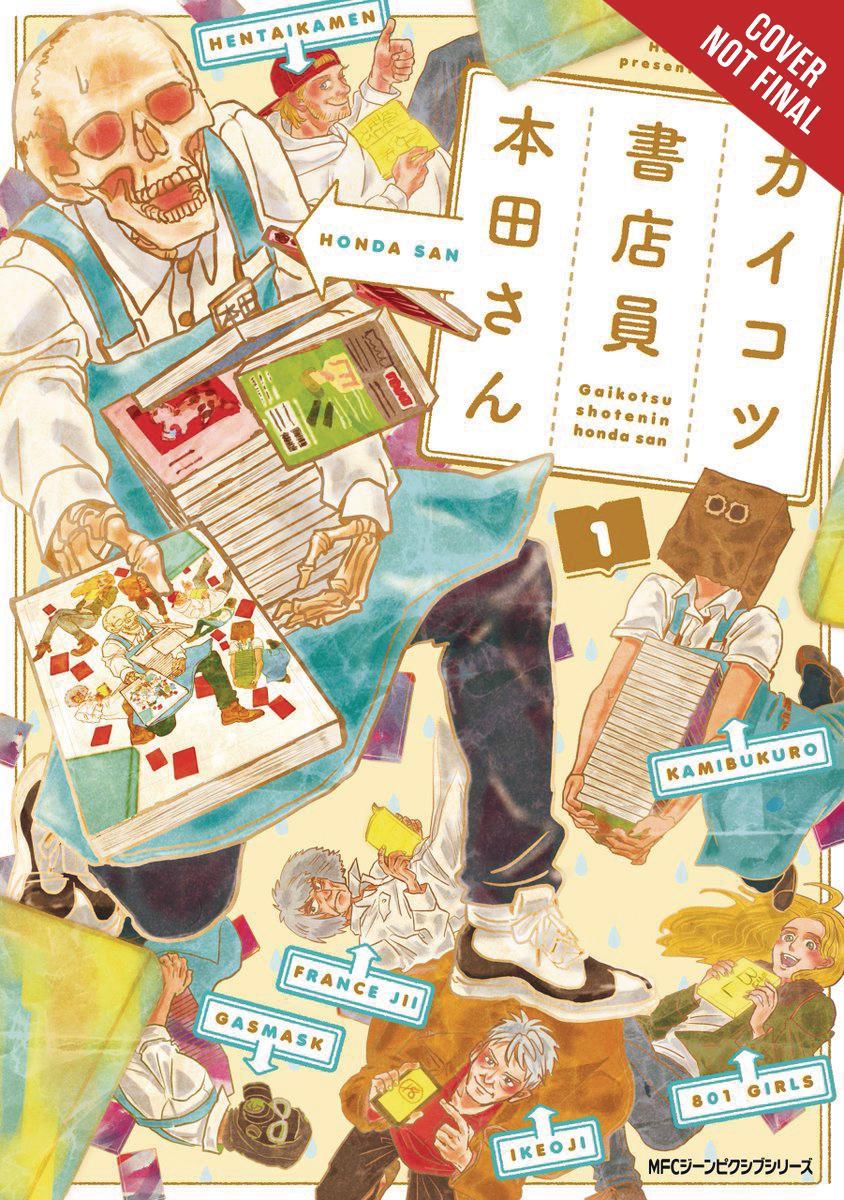 Skull-Face Bookseller Honda-San Vol 1 GN