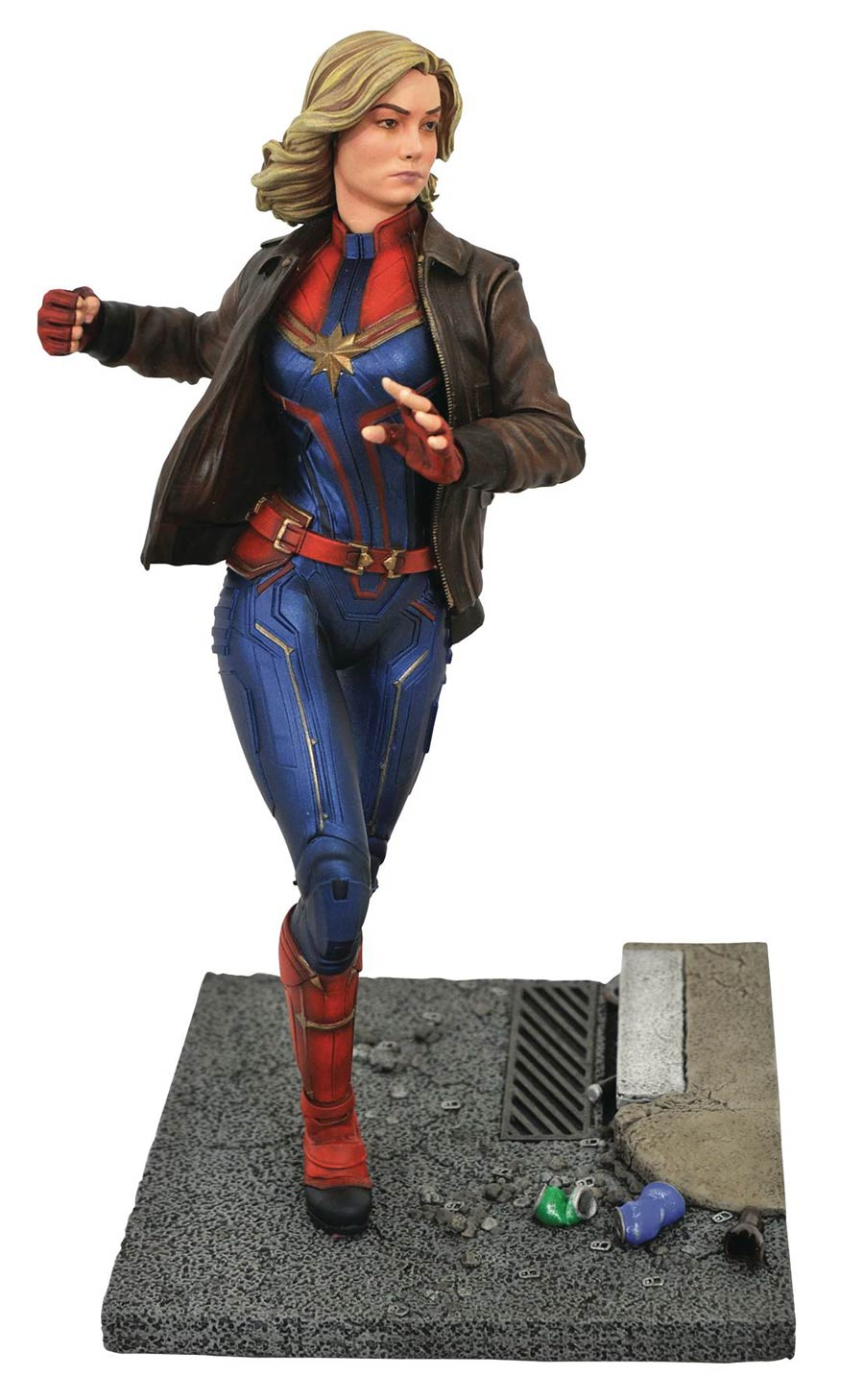 Marvel Movie Premier Collection Captain Marvel Movie Statue