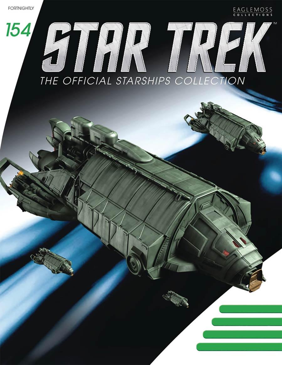 Star Trek Starships Figure Collection Magazine #154 Klingon Rebel Transport