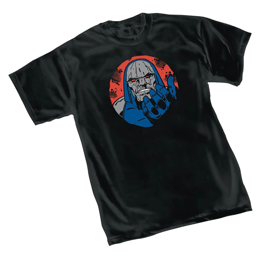 Darkseid Wants You Symbol T-Shirt Large
