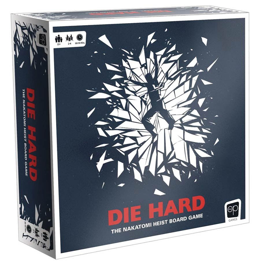 Die Hard The Nakatomi Heist Board Game