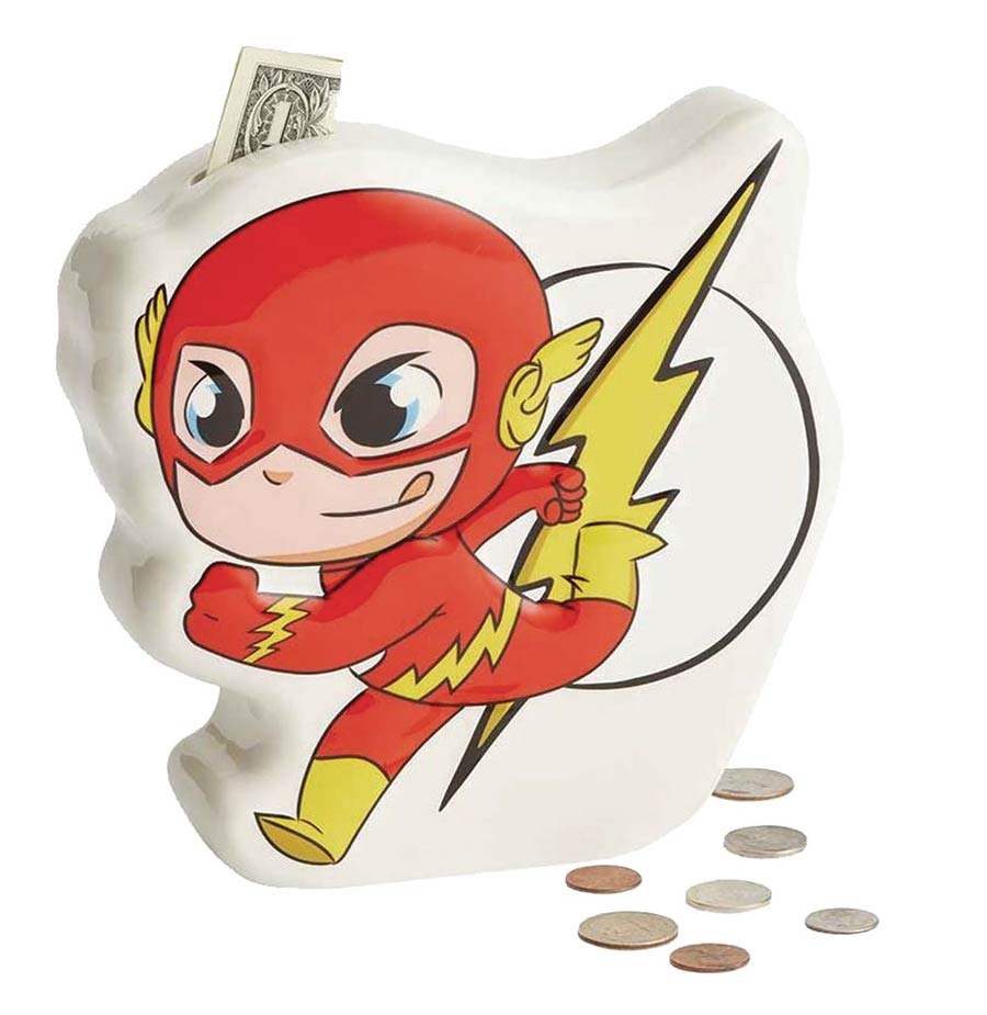 DC Heroes Super Friends Flash Coin Bank