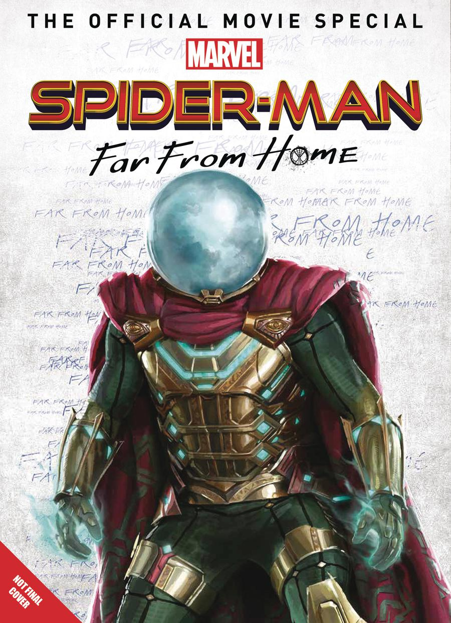 Marvel Spider-Man Far From Home Official Movie Special Previews Exclusive Edition