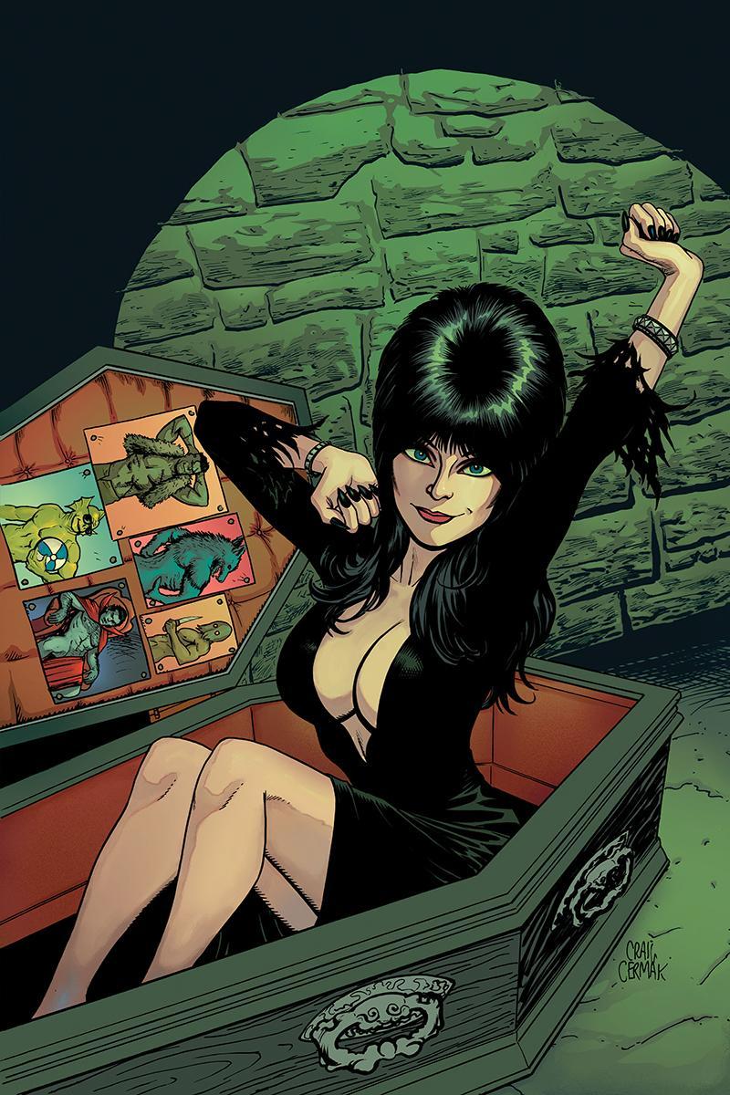 Elvira Mistress Of The Dark Vol 2 #12 Cover F Incentive Craig Cermak Virgin Cover
