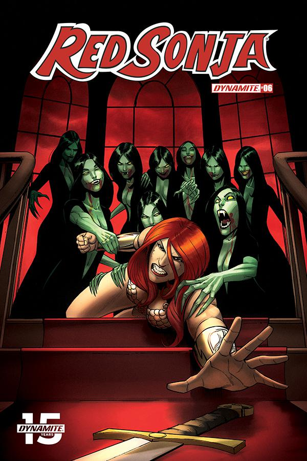 Red Sonja Vol 8 #6 Cover F Incentive Bob Q Seduction Color Variant Cover
