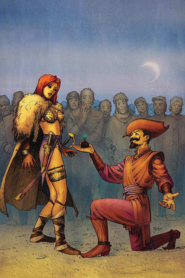 Red Sonja Vol 8 #6 Cover I Incentive Richard Pace Virgin Cover