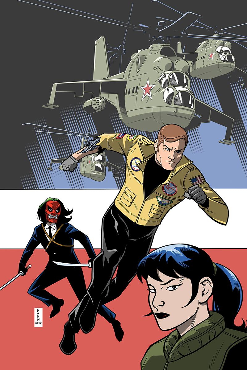 Six Million Dollar Man Vol 2 #5 Cover D Incentive David Hahn Virgin Cover