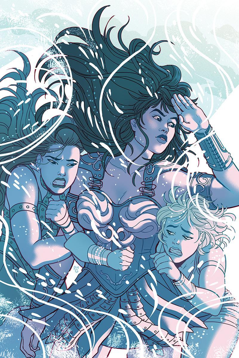 Xena Warrior Princess Vol 4 #4 Cover F Incentive Paulina Ganucheau Virgin Cover