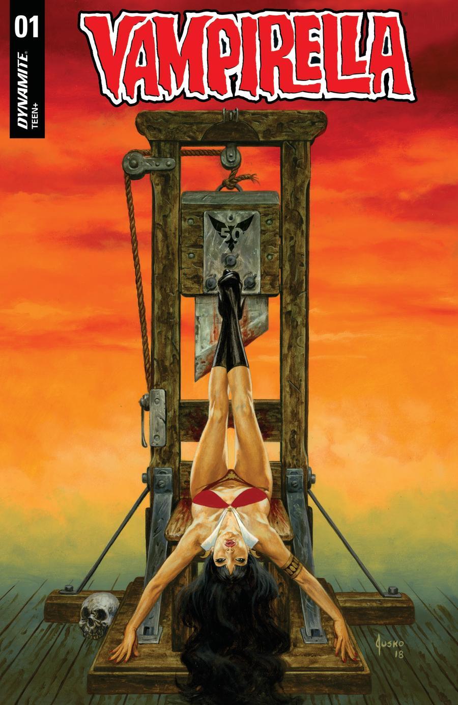 Vampirella Vol 8 #1 Cover Y Variant Joe Jusko Cover CGC Graded