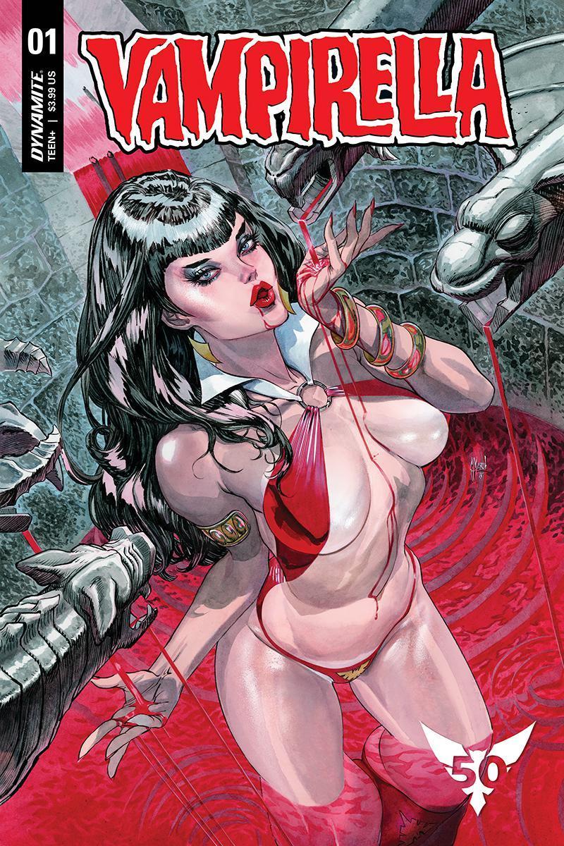 Vampirella Vol 8 #1 Cover Z Variant Guillem March Cover CGC Graded