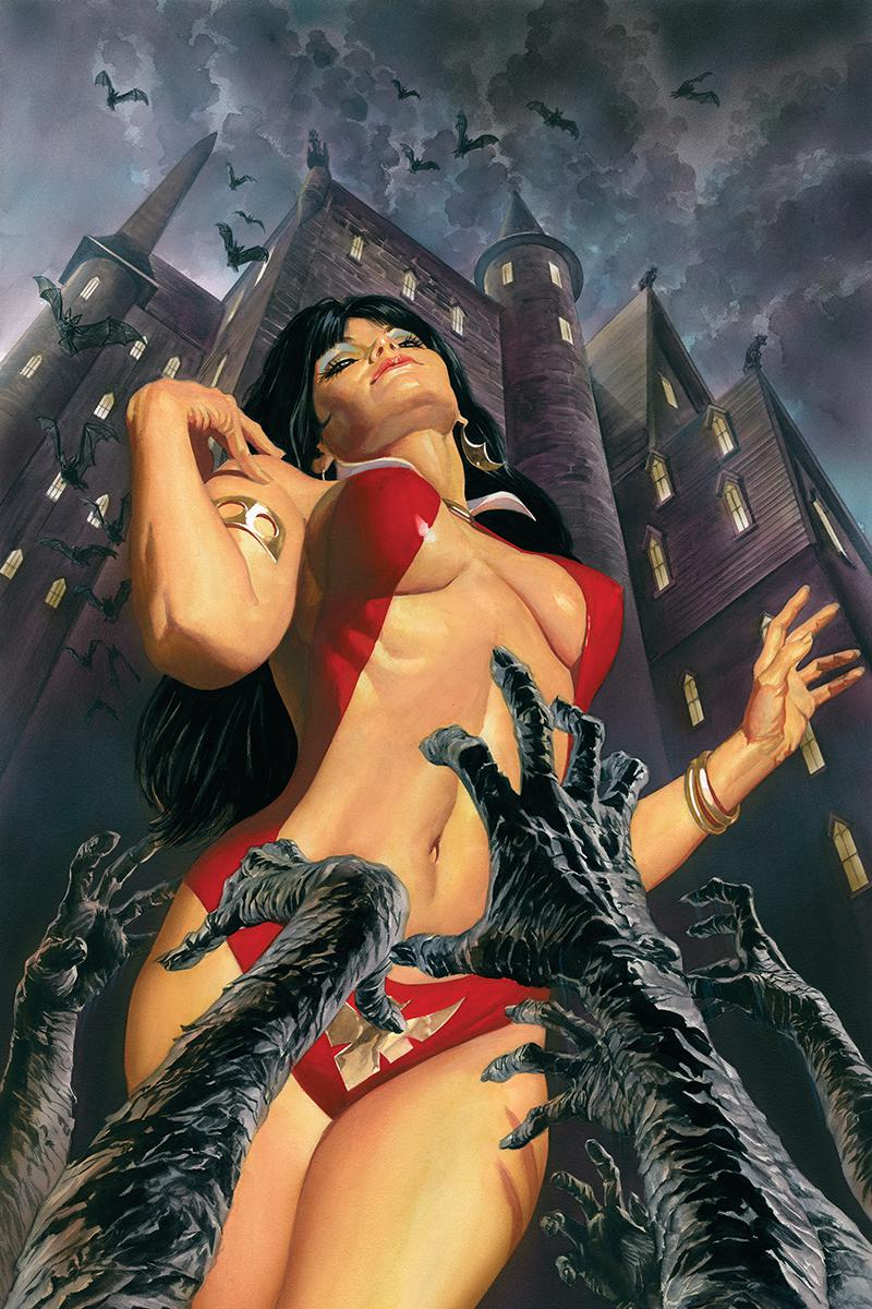 Vampirella Vol 8 #1 Cover T Limited Edition Alex Ross Virgin Cover