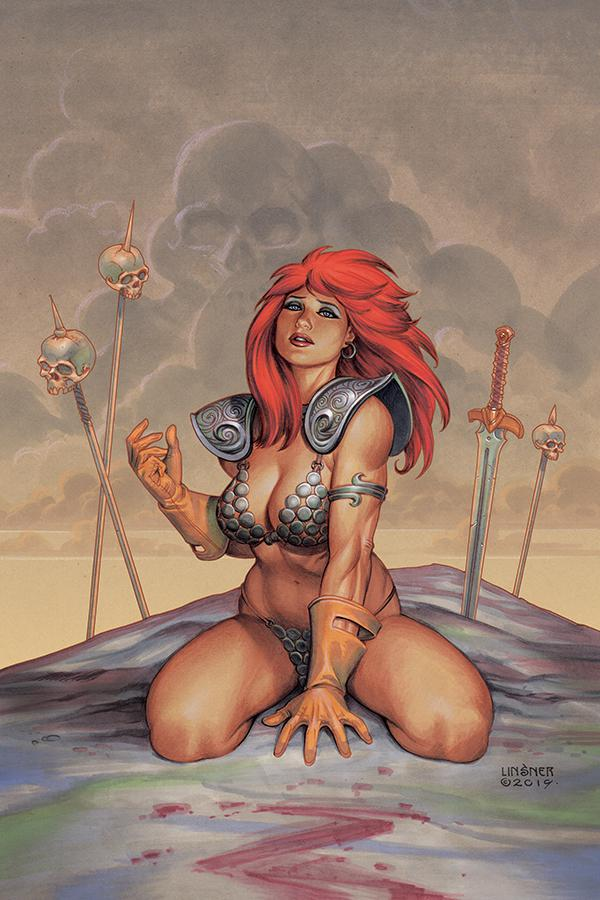 Red Sonja Vol 8 #6 Cover L Limited Edition Joseph Michael Linsner Virgin Cover