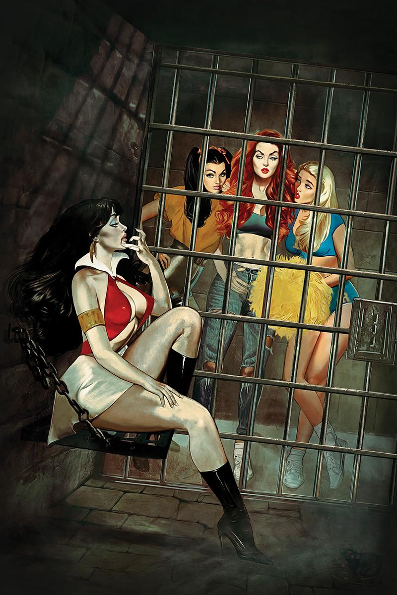 Red Sonja And Vampirella Meet Betty And Veronica #3 Cover J Limited Edition Fay Dalton Virgin Cover