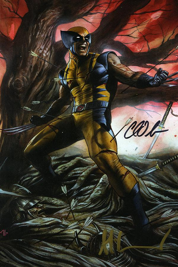Return Of Wolverine #1 Cover Z-N DF CSA Exclusive Virgin Variant Cover Signed By Charles Soule & Adi Granov