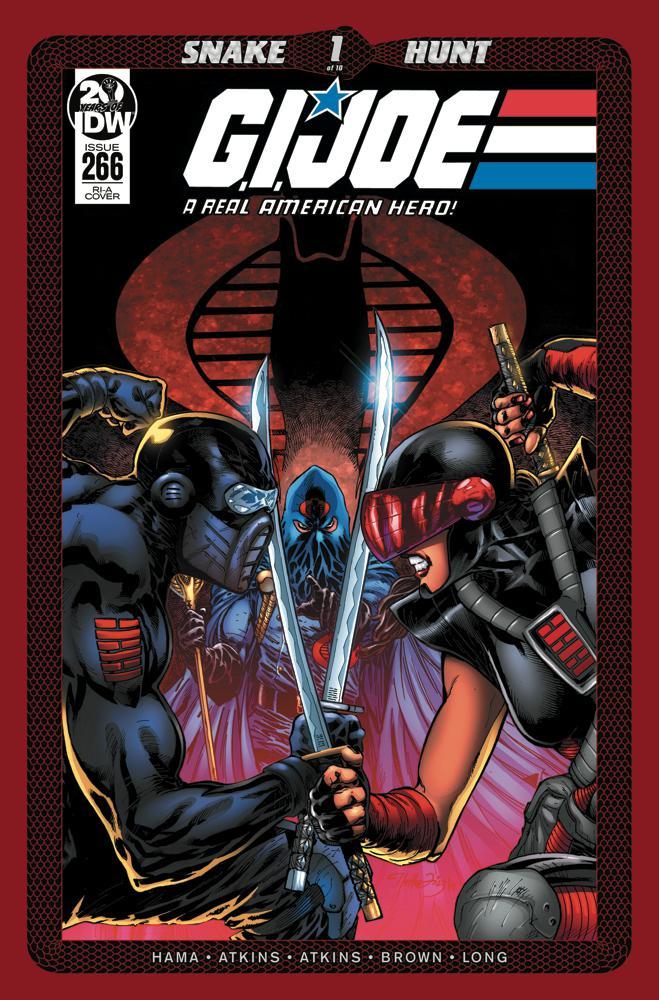 GI Joe A Real American Hero #266 Cover C Incentive Netho Diaz Variant Cover