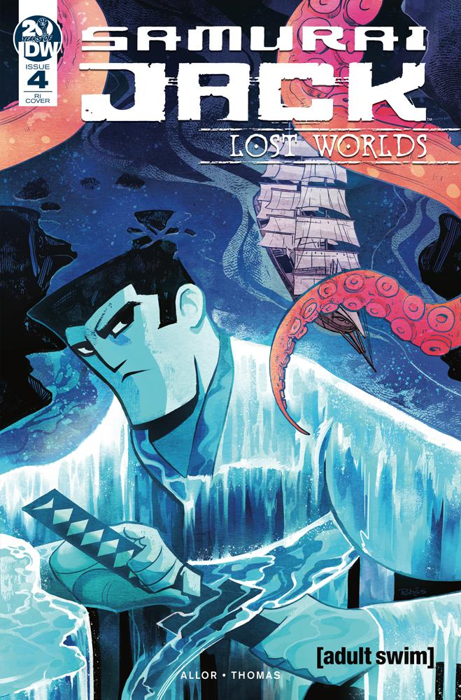 Samurai Jack Lost Worlds #4 Cover C Incentive Nick Robles Variant Cover