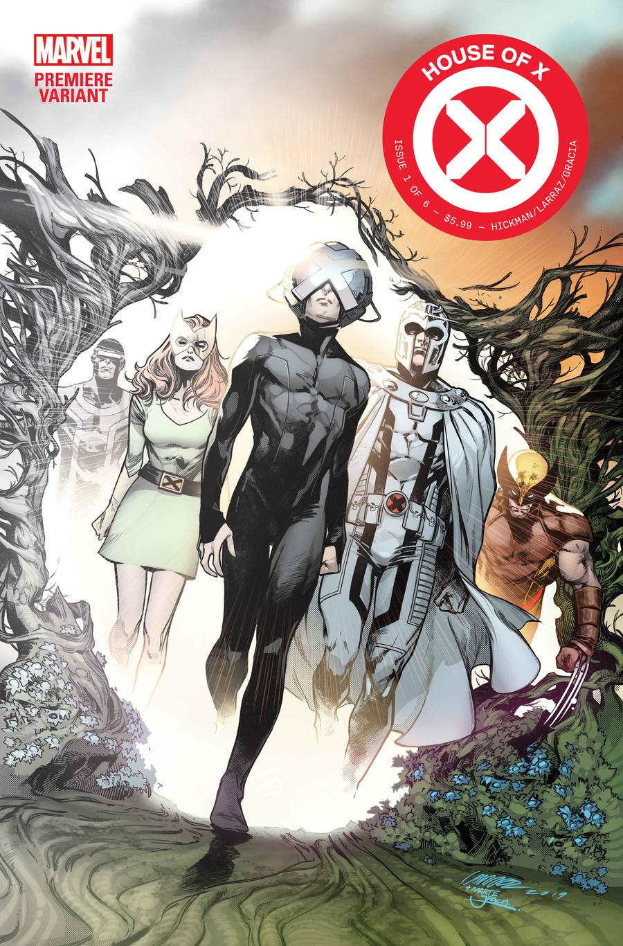 House Of X #1 Cover O Incentive Pepe Larraz Premiere Variant Cover