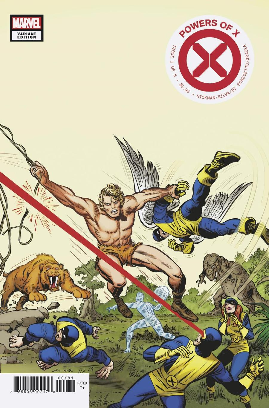 Powers Of X #1 Cover K Incentive Jack Kirby Hidden Gem Variant Cover