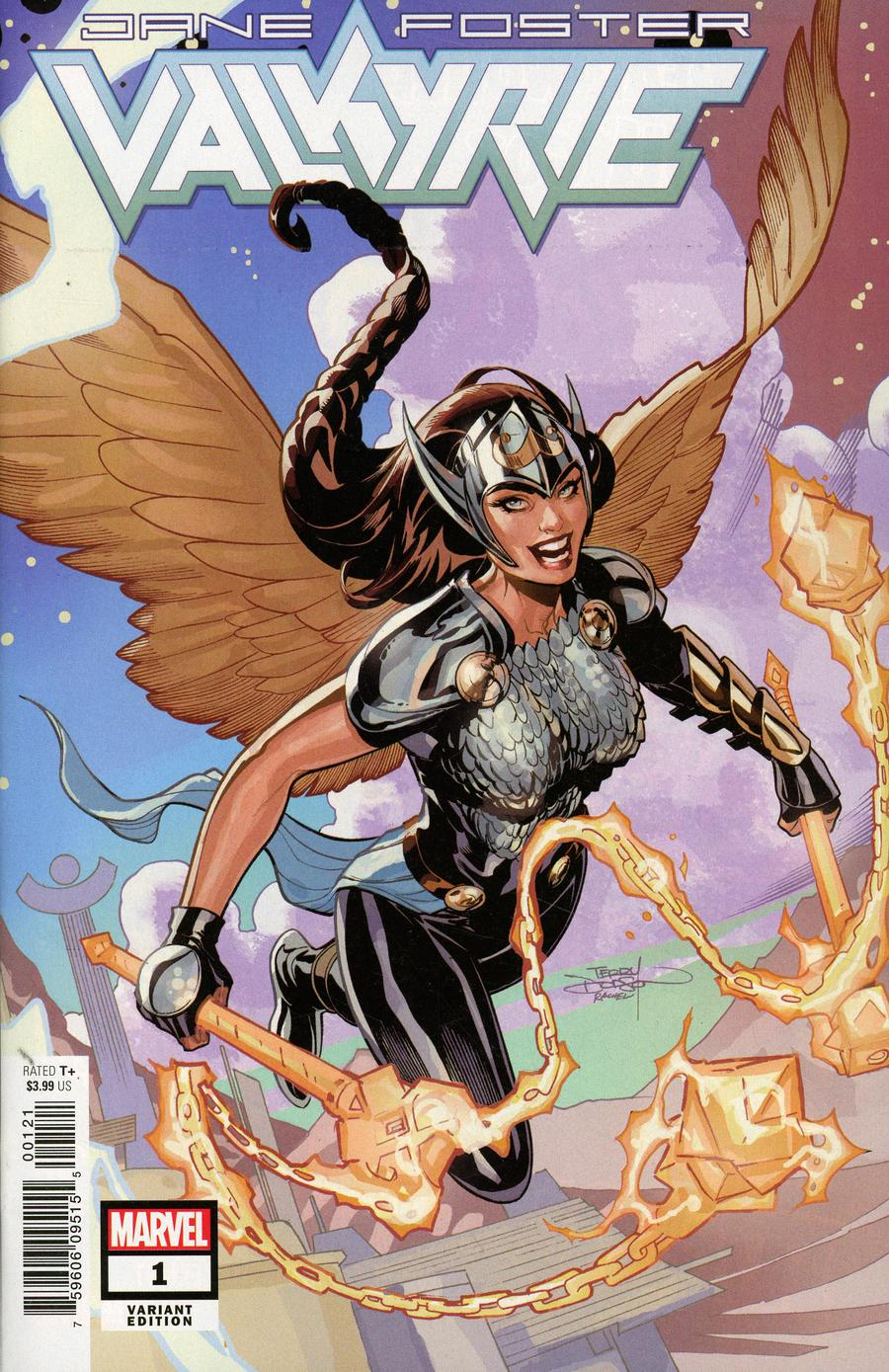 Valkyrie Jane Foster #1 Cover D Incentive Terry Dodson Variant Cover