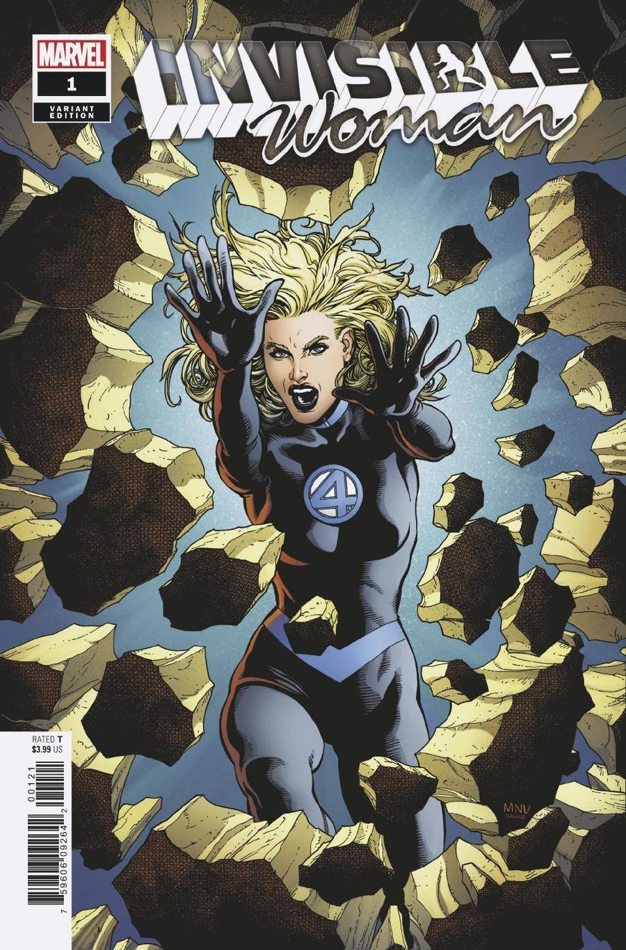 Invisible Woman #1 Cover C Incentive Steve McNiven Variant Cover