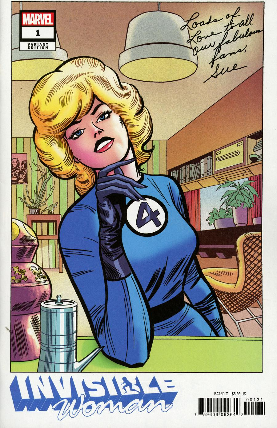 Invisible Woman #1 Cover D Incentive Jack Kirby Hidden Gem Variant Cover