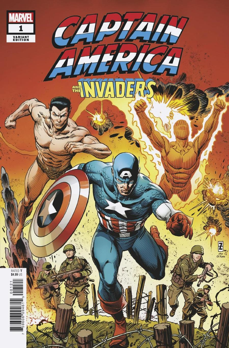 Captain America And The Invaders Bahamas Triangle #1 Cover C Incentive Patrick Zircher Variant Cover
