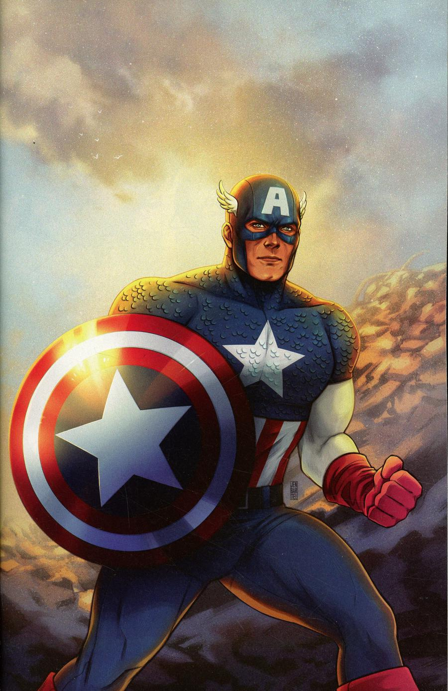 Marvel Tales Captain America #1 Cover B Incentive Jen Bartel Virgin Cover