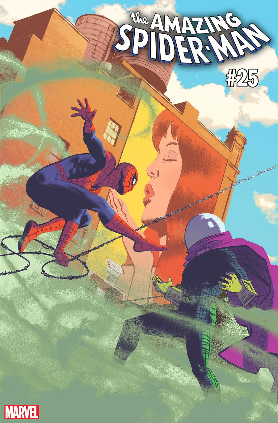 Amazing Spider-Man Vol 5 #25 Cover H Incentive Greg Smallwood Variant Cover