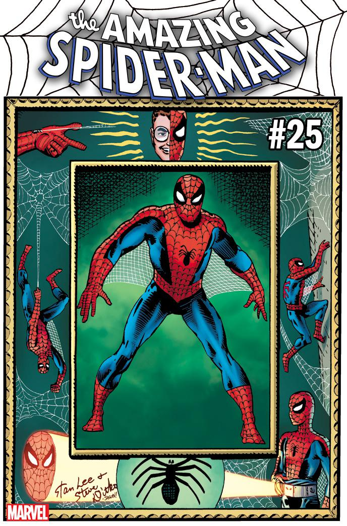 Amazing Spider-Man Vol 5 #25 Cover I Incentive Steve Ditko Hidden Gem Variant Cover