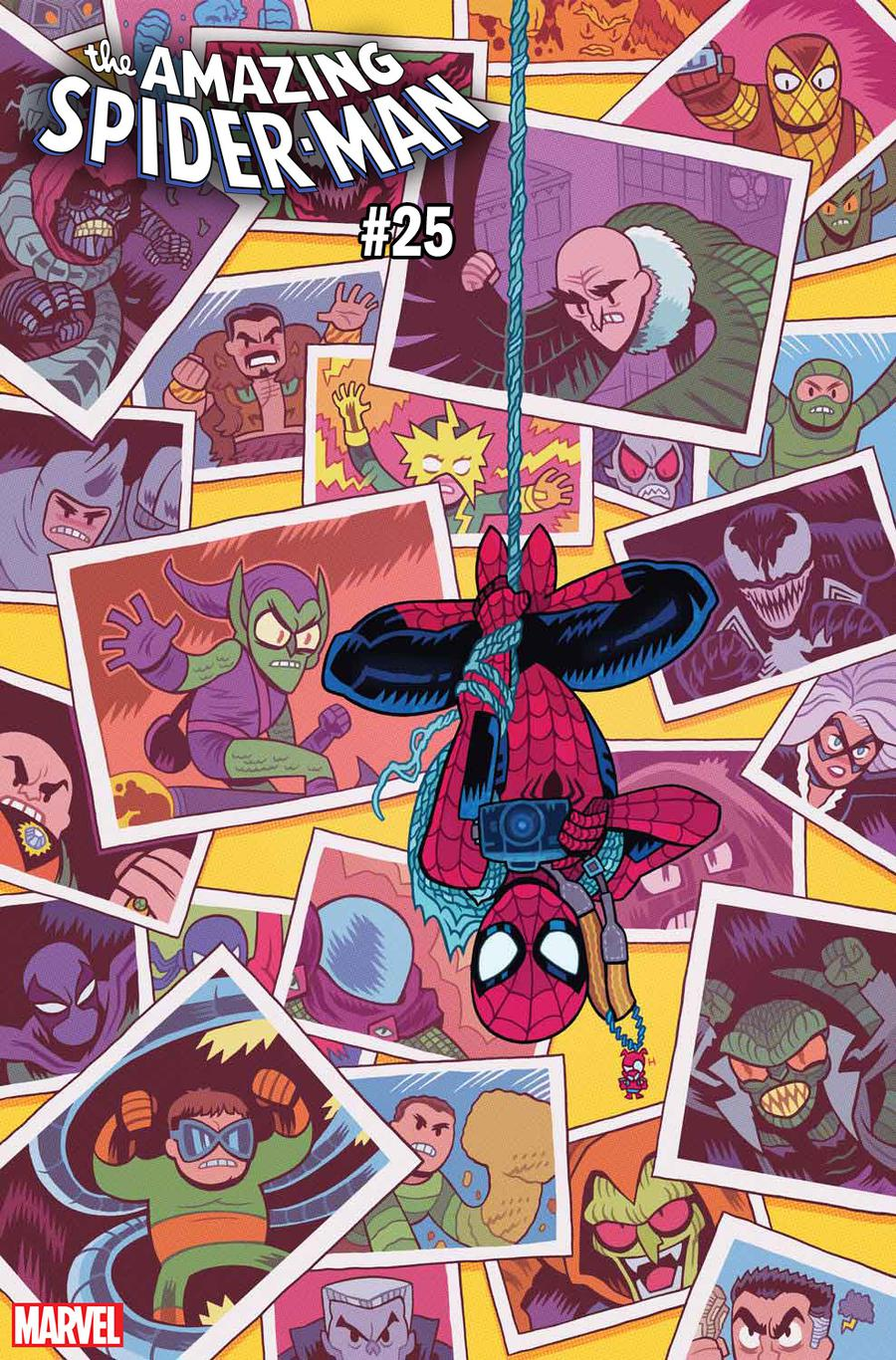 Amazing Spider-Man Vol 5 #25 Cover G Incentive Dan Hipp Variant Cover